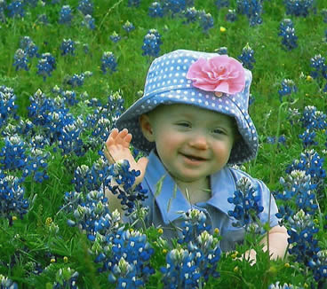 Ella in Bluebonnets